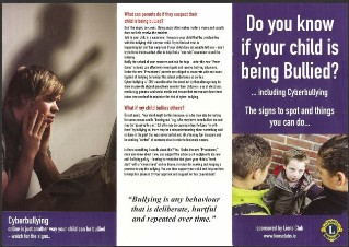 Lions anti bullying campaign view the lions anti bullying leaflet above altavistaventures Image collections